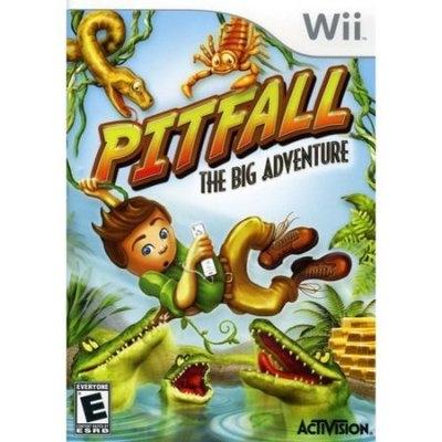 Pitfall: The Big Adventure - [Nintendo Wii] - Used