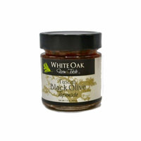 White Oak Farm and Table Tuscan Black Olive Tapenade, 7.3 Ounce