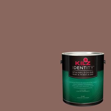 KILZ IDENTITY Interior/Exterior Stainblocking Paint & Primer in One #LB290-01 Brown Chipotle, 1 gallon