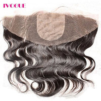 Silk Top Lace Frontal 13x4 Virgin Brazilian Body Wave Human Hair Lace Frontals 4X4 Silk Base Free Part Lace Frontal Closure with Bleached Knots Baby Hair