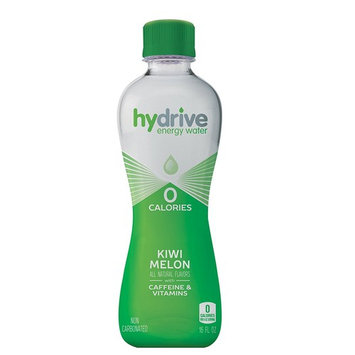 Hydrive Energy Water | Kiwi Melon | Sugar Free | Zero Calories | All Natural Flavors | Natural Energy | 16 oz (Pack of 12)