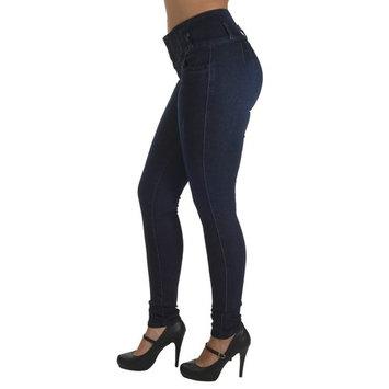 A5140P - Plus Size, Butt Lift Levanta Cola, Elastic Waist, Sexy Skinny Jeans