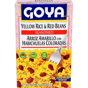 Goya Yellow Rice And Red Beans, 8-Ounce Units (Pack of 24)