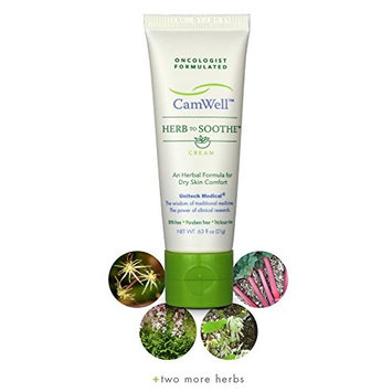 Radiation Cream Burn Skin Relief CamWell Herb to Soothe Oncologist formulated Soothing Care