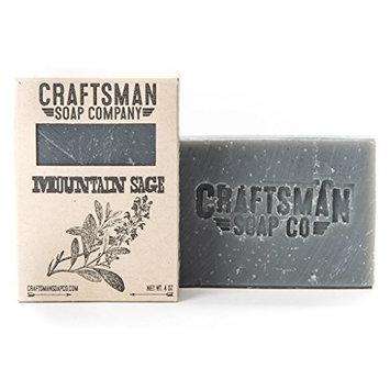 Mountain Sage Bar Soap by Craftsman Soap Company - Handmade in California [Mountain Sage]