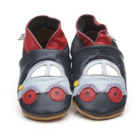 Soft Leather Baby Shoes Car 4-5 years