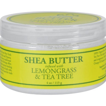 Nubian Heritage Shea Butter Infused With Lemongrass & Tea Tree, 4 Oz