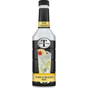 Mr & Mrs T Tom Collins Cocktail Mix, 1 L Bottles, 1 Count (Pack of 6)