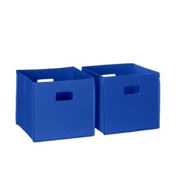 RiverRidge (2pc) Folding Toy Storage Bin Set