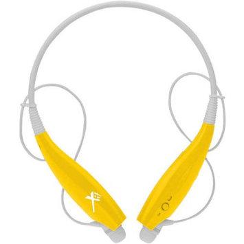 Xit Inc. Xit Axtbthsby Yellow Bluetooth Neck Headphones Sound Band