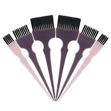 Segbeauty Hair Dye Brush, 6pcs Tint Brush Set Hair Coloring Brushes, Professional Hairdressing Tinting Brush Color Applicator Brush, Hair Bleach Styling Brush for Hair Dyeing Balayage