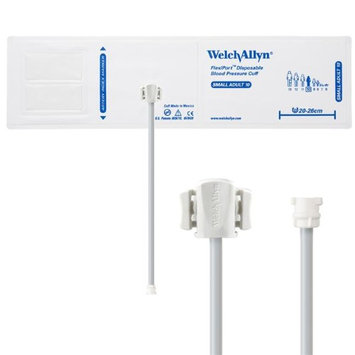 Welch Allyn WEL SOFT-10-1MQ Flexiport Blood Pressure Cuff for Locking Connector Small Adult - Pack of 20