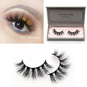 Visofree Lashes 3D Mink Eyelashes Long Lasting Mink Lashes Natural Dramatic Volume Eyelashes Extension False Eyelashes