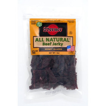 Werner Gourmer Meat Snacks Werner All Natural Honey Glazed Beef Jerky 9oz