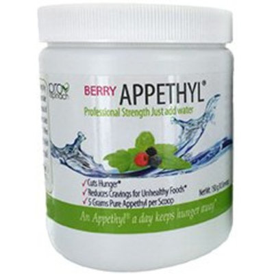 Appethyl Energy Powder, Pure Spinach Extract - Reduced Cravings, Healthy Dose of Green, Berry Flavor, 150gram