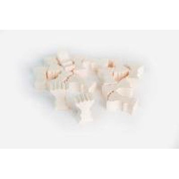Game Accessories: Wooden Reed Token Set (10) MYY10REED MAYDAY GAMES