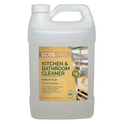 EARTH FRIENDLY PRODUCTS PL9746/04 Kitchen Cleaners, Size 1 gal, Parsley
