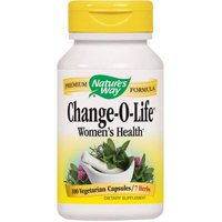 Nature's Way Change-O-Life 7 Herb Blend, Certified 440 mg, Capsules, 100 CT