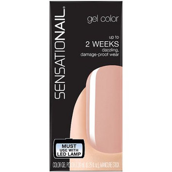 Pacific World Corporation SensatioNail Gel Color Nail Polish, Pink Sand, 0.25 fl oz