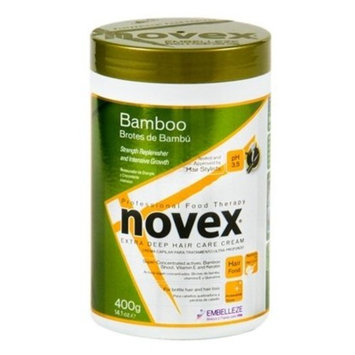 Novex Embelleze Bamboo Bambo Sprout Deep Conditioning Hair Mask Treatment 14.1oz / 400g