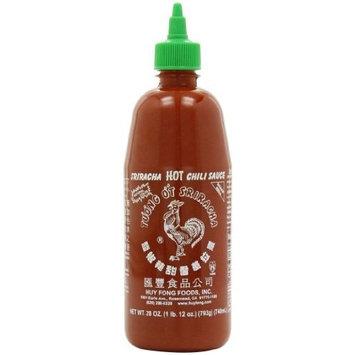 Sriracha Hot Chili Sauce Bottle, 28 Ounce