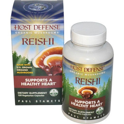 Host Defense Reishi - Fungi Perfecti, 240 count (2 Pack of 120)
