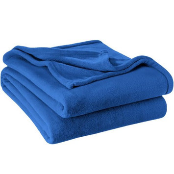 Microplush Super Soft Blanket - Full/Queen (Medium Blue)