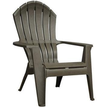 Adams Mfg Corp Earth Brown Resin Stackable Adirondack Chair 8371-60-3700