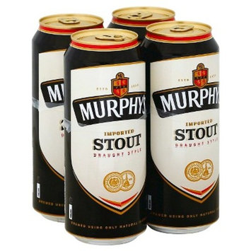 Murphy's Imported Stout Draught Style Beer, 4 pack, 14.9 fl oz