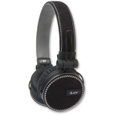 iLuv Deep Bass Headphones Canvas Exterior for Smartphones