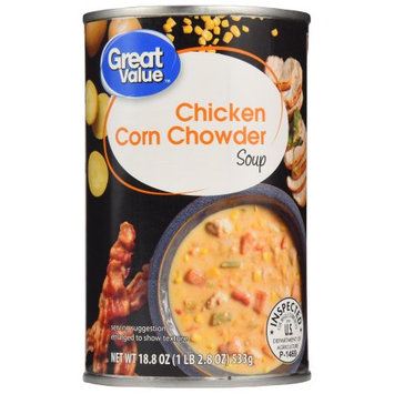 Great Value Chicken Corn Chowder Soup