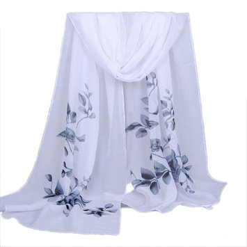 Datework Women Long Soft Wrap Shawl Chiffon Scarf