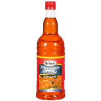 Grace Kennedy Limited Grace Caribbean Trasition Syrup Orange Pineapple 33.9-Ounce (Pack of 12)