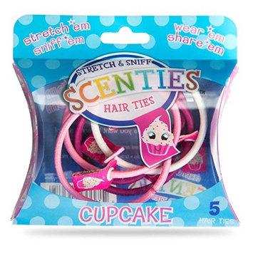 Scen-ties Stretch n Sniff Hair Ties - Vanilla Cupcake