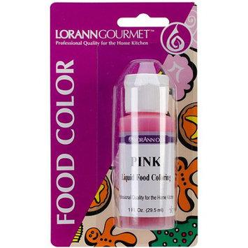 Lorann Oils Liquid Food Color 1oz-Pink