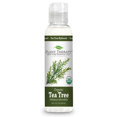 Plant Therapy Tea Tree Melaleuca Organic Hydrosol 4 fl. oz. By-Product of Essential Oils