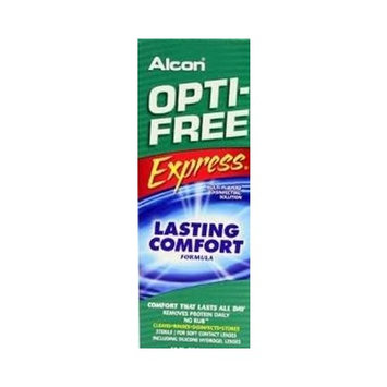 OPTI-FREE EXPRESS Everyday Comfort, Advanced Cleaning & Disinfection 10 oz
