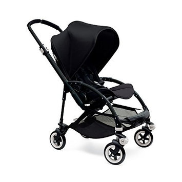 Bugaboo Bee3 Complete with Black Base and Grey Melange Seat