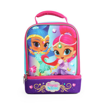Nickelodeon Shimmer And Shine Insulated Dual Compartment Lunch Kit