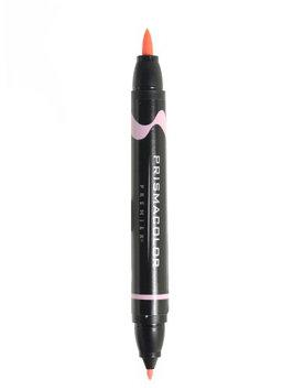 Prismacolor Premier Double-Ended Brush Tip Markers blush pink light, 009 [pack of 6]