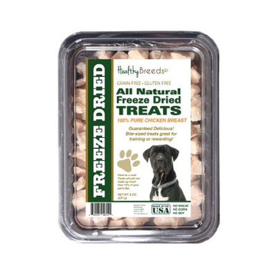 Healthy Breeds 840235146551 8 oz Cane Corso All Natural Freeze Dried Treats Chicken Breast