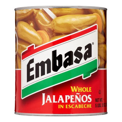 Hormel Embasa Whole Jalape ±os in Escabeche, 92 Oz