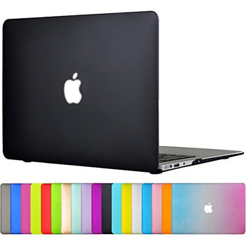 Topideal MacBook Air Case 13 inch (Models: A1466/ A1369) Soft-Touch Frosted Plastic Hard Shell Protective Cover for MacBook Air 13