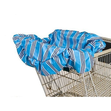 Wupzey Shopping Cart Cover, Blue Stripe