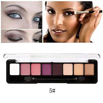 Alonea 8 Colors Cosmetic Powder Smoky Eyeshadow Palette Makeup Set Matt