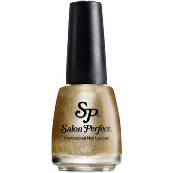 American International Salon Perfect Professional Nail Lacquer, 402 Gold Leaf, 0.5 fl oz