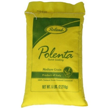 Roland Polenta, Medium Grain, 5 Pound [Medium Grain]