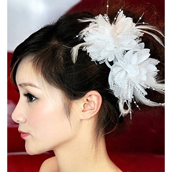 Exquisite Lace Wedding Bridal Hair Dress by Exquisite