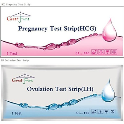 Greatfuns 1000 LH Ovulation Test Strips