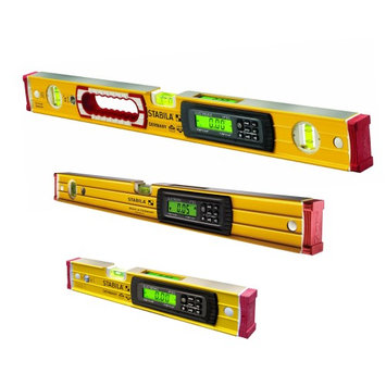 Stabila Electronic Magnetic TECH Level 3pc Bundle 48', 24', and 14' Levels